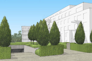Wirtz International Landscape Architects - 2 Alice: a real estate project in Uccle by 3D Real Estate and Beaufort House