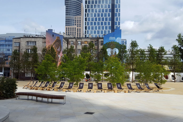 Wirtz International Landscape Architects - Warsaw Spire