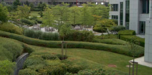 Wirtz International Landscape Architects - BGL BNP Paribas, Kirchberg (Luxemburg)