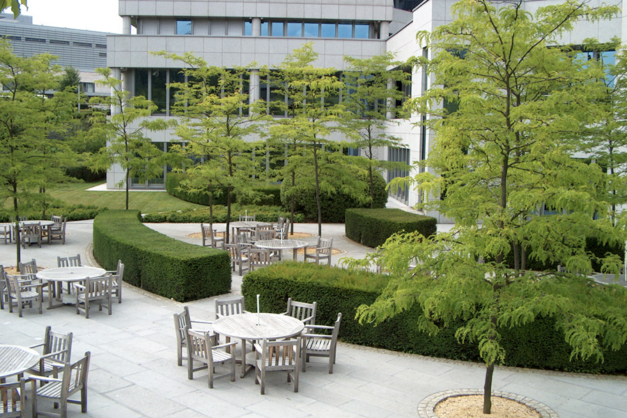 Wirtz International Landscape Architects - BGL BNP Paribas, Kirchberg (LU)