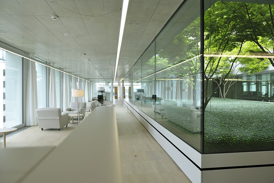 Wirtz International Landscape Architects - Novartis Basel Switzerland