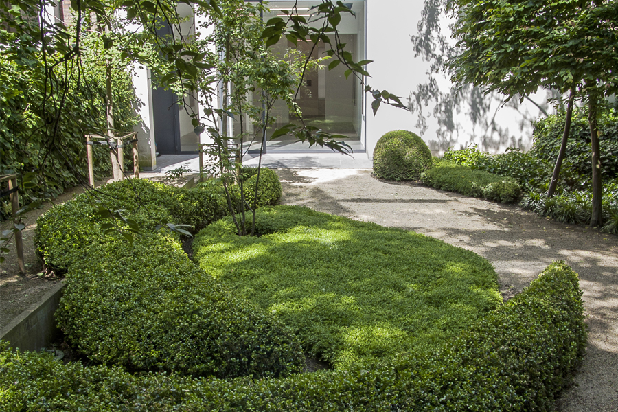 Wirtz International Landscape Architects - Hufkens Art Gallery Brussels