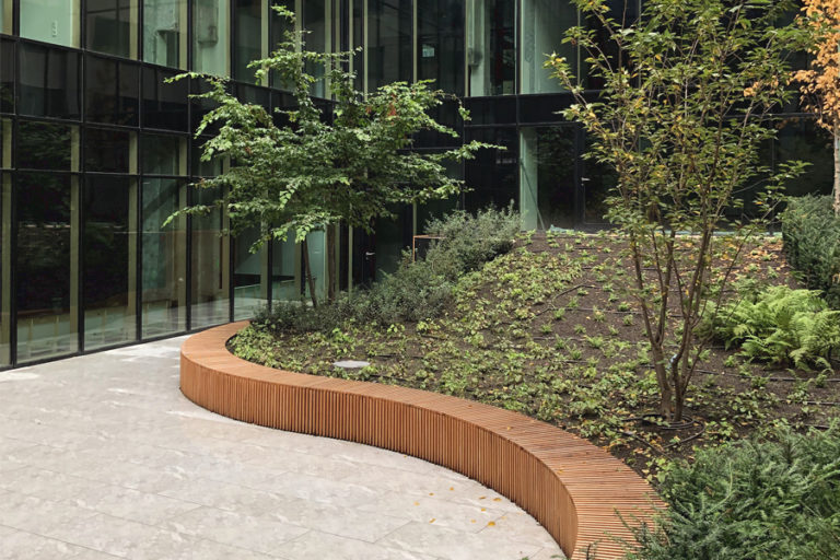 Wirtz International Landscape Architects - Seven Building Brussels